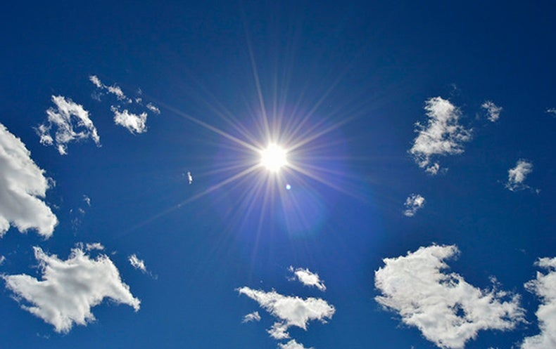 The Sun's Blinding Joy